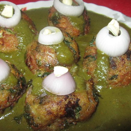 Photo of Palak kofta curry by Swati Das Patnaik at BetterButter