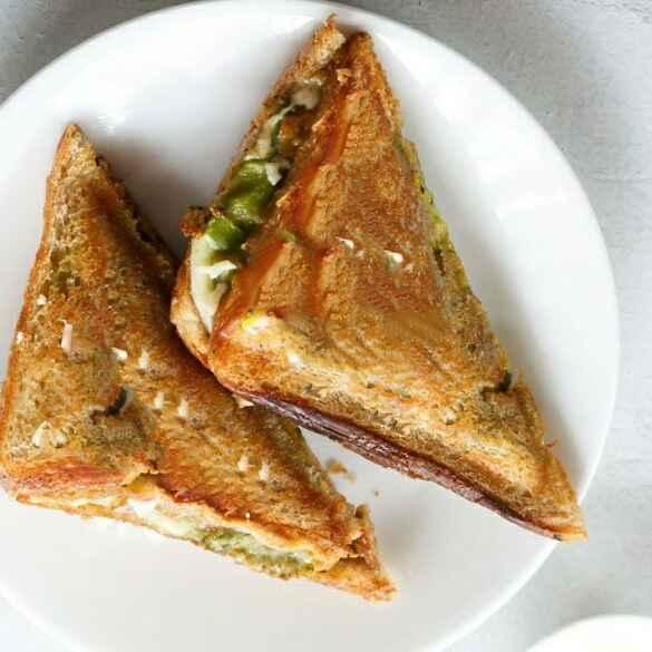 Photo of Vadapav griiled sandwich by Swati Kolhe at BetterButter