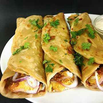 Photo of Spinach bean kabab roll by Swati Kolhe at BetterButter