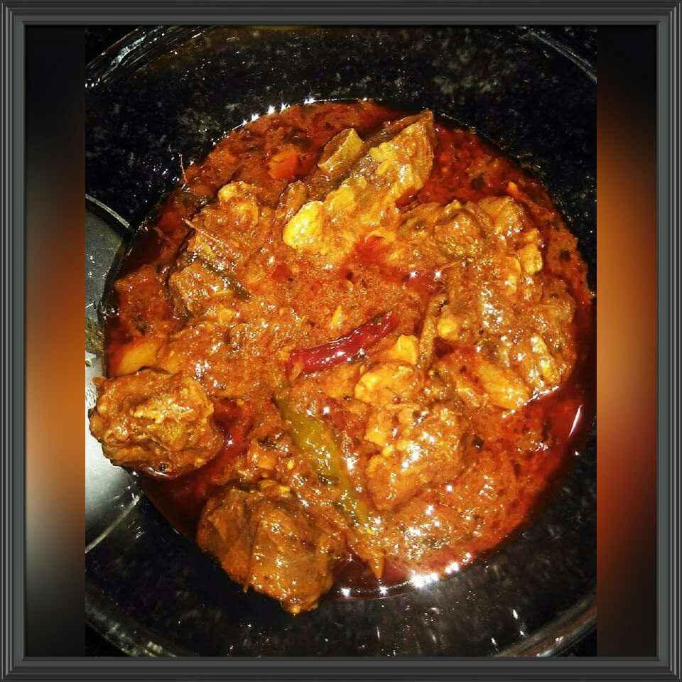 How to make achari mutton