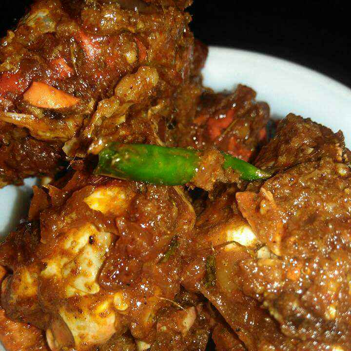 Photo of crab curry/ kNakrar kosha by Swati Mookherjee at BetterButter