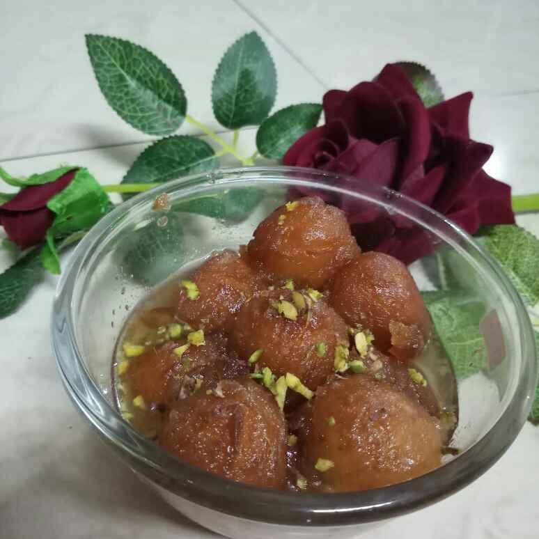 How to make Leftover Bread Gulab Jamun