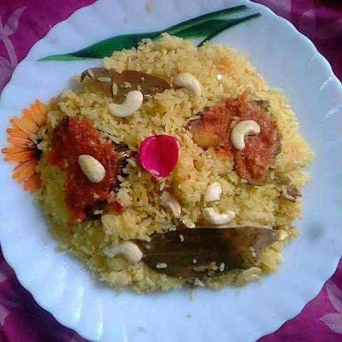How to make ফিস পলাও