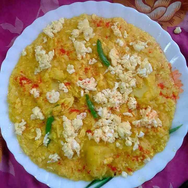 How to make dimer khichuri