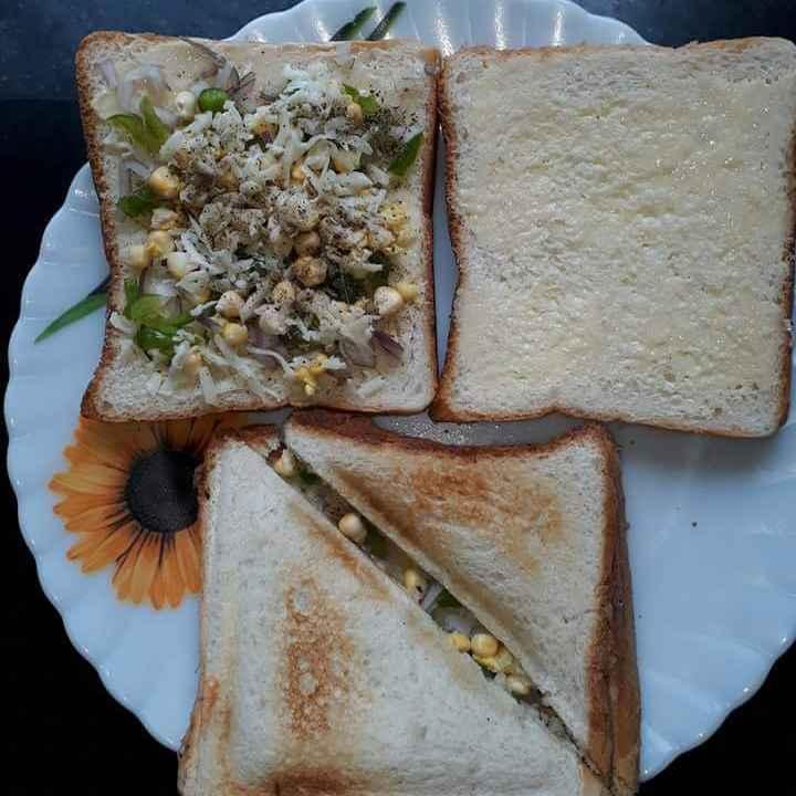 Photo of chese corn sandwitch by Swati Sengupta at BetterButter