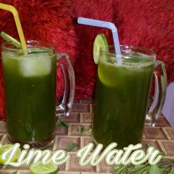 How to make Mint lime water