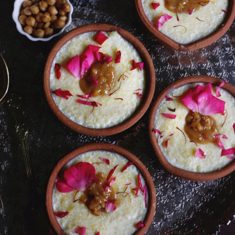 How to make Butterscotch rice pudding or phirni