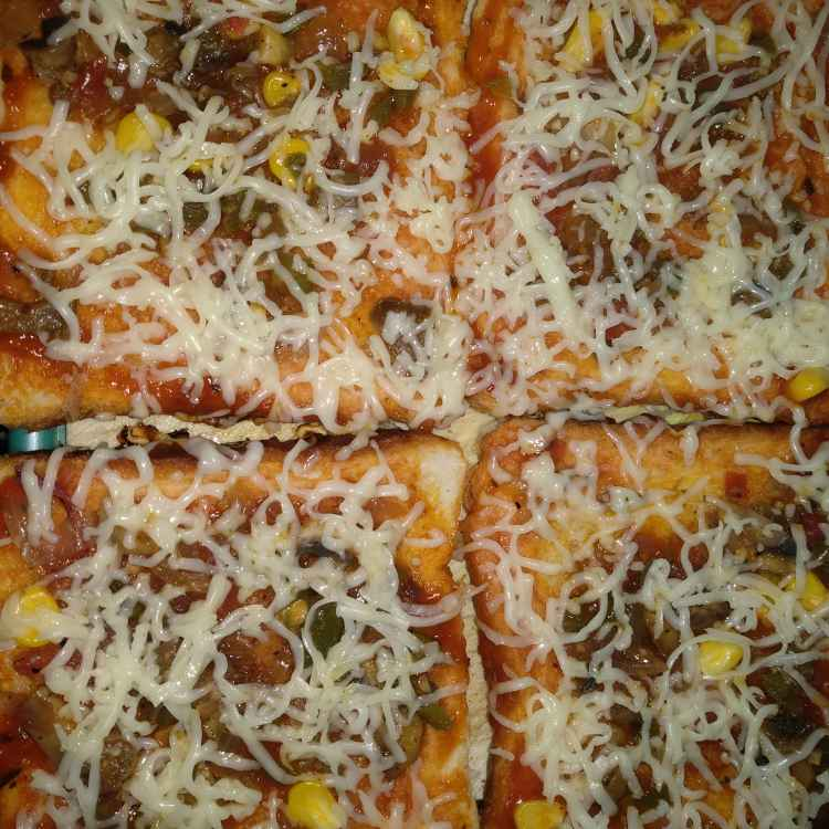 Photo of Veg pizza for starters by Sweetie Shaikh at BetterButter