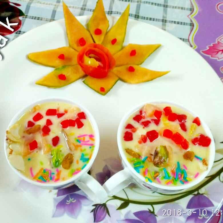 Photo of Fruit custard by Divya Konduri at BetterButter