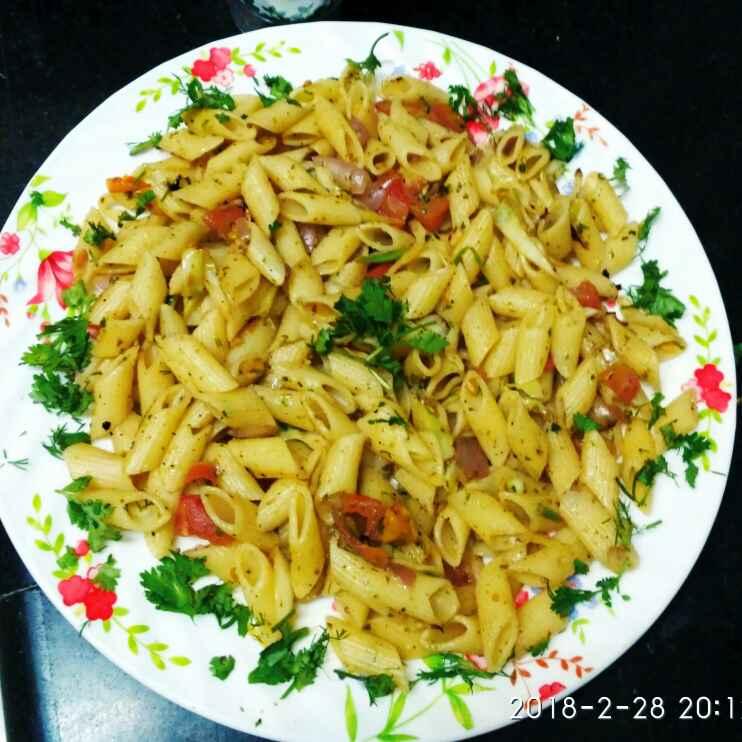 How to make White pasta