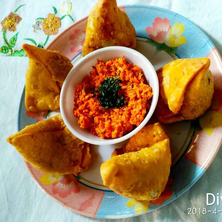 How to make Hyderabadi aloo samosa