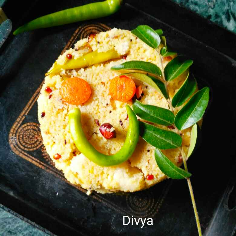 How to make Left over idly poha