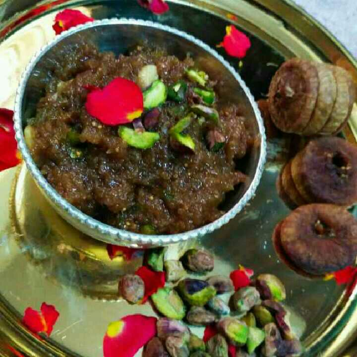 How to make Pistachio fig halwa