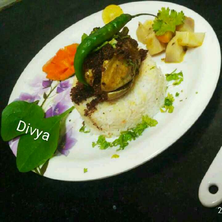 How to make Stuffed till ghoash brinjal with rice
