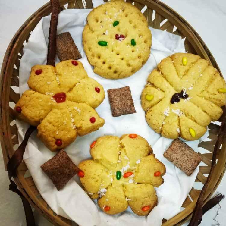 Photo of Custard sweet cookies by Divya Konduri at BetterButter