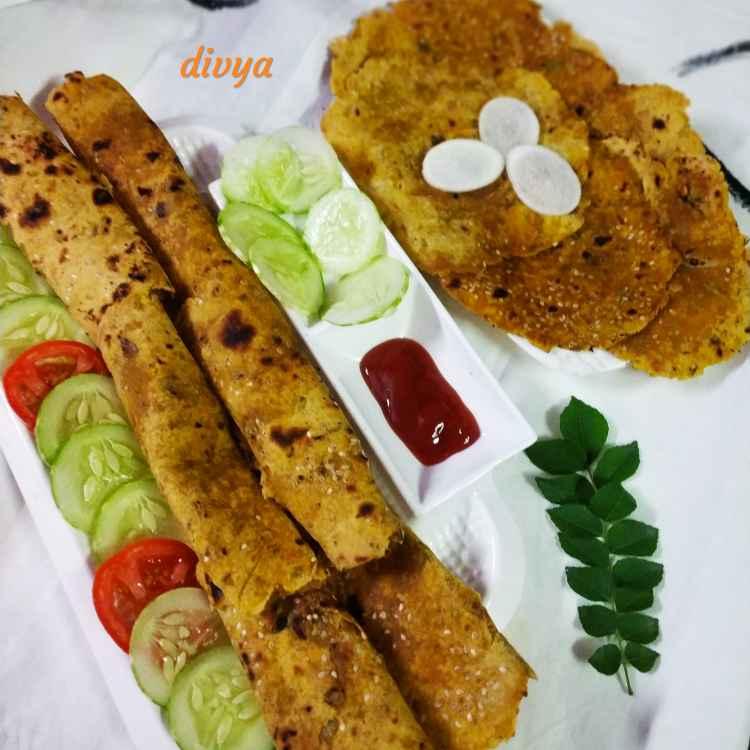 Photo of Radish wheat flour till roties by Divya Konduri at BetterButter