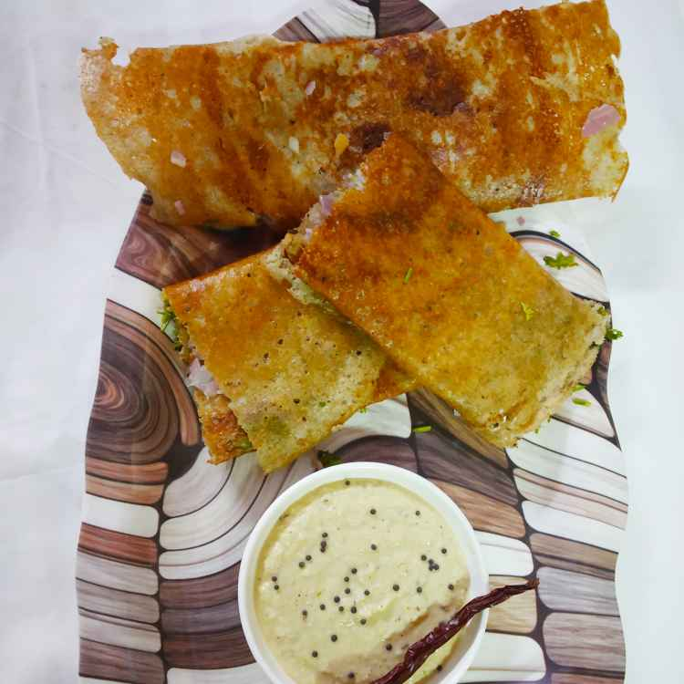 Photo of ginger ,onion moong dal dosa by Divya Konduri at BetterButter