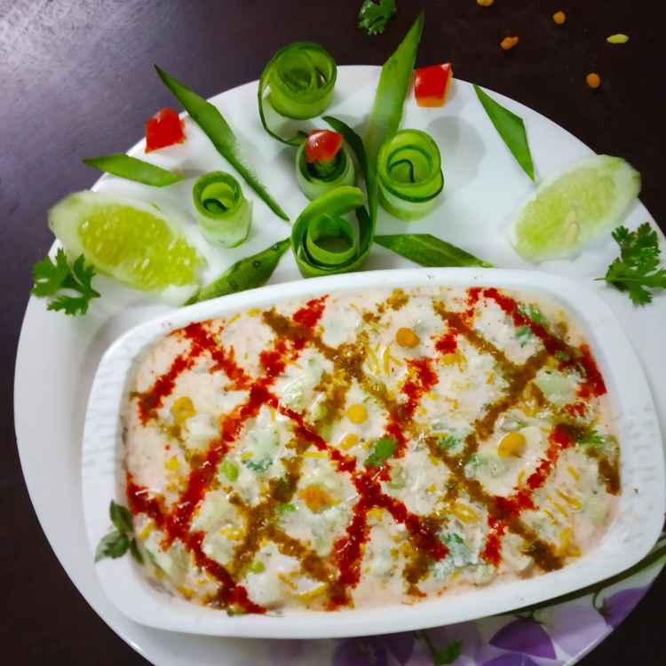 Photo of Cucumber Boondi  curd raitha by Divya Konduri at BetterButter