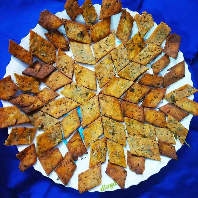 Photo of Methi dimond biscuits by Divya Konduri at BetterButter