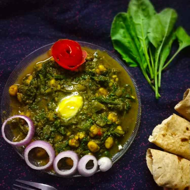 Photo of Palak chole masala by Divya Konduri at BetterButter