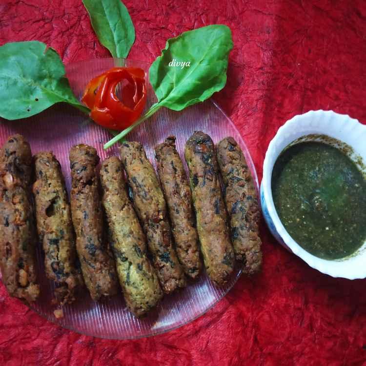 Photo of Spinach sweetpotato fingers by Divya Konduri at BetterButter