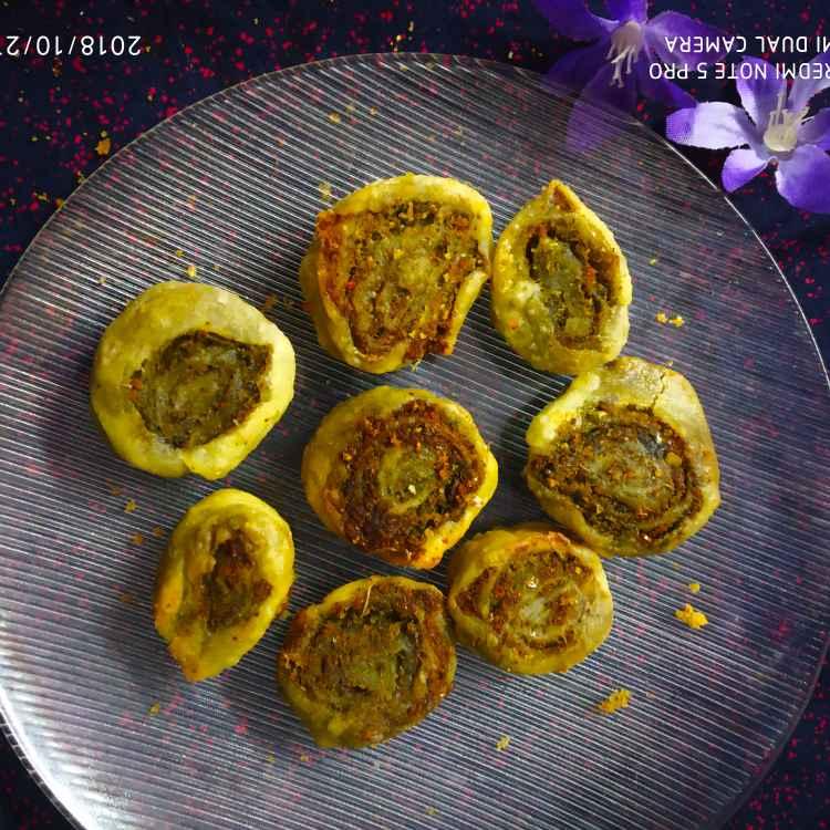 Photo of Mint bakarvadi  by Divya Konduri at BetterButter