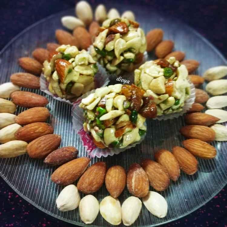 Photo of Dri fruit laddus by Divya Konduri at BetterButter