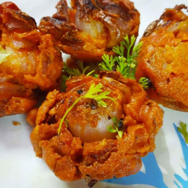 Photo of Mini blooming onion by Divya Konduri at BetterButter