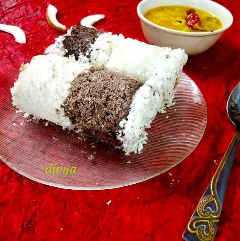 Photo of Chemba ari nariyal puttu with alloo koorma by Divya Konduri at BetterButter
