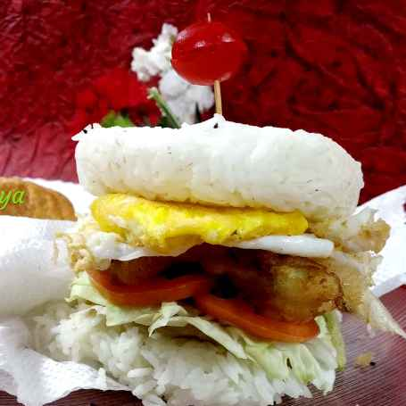 Photo of Tempura rice burger by Divya Konduri at BetterButter