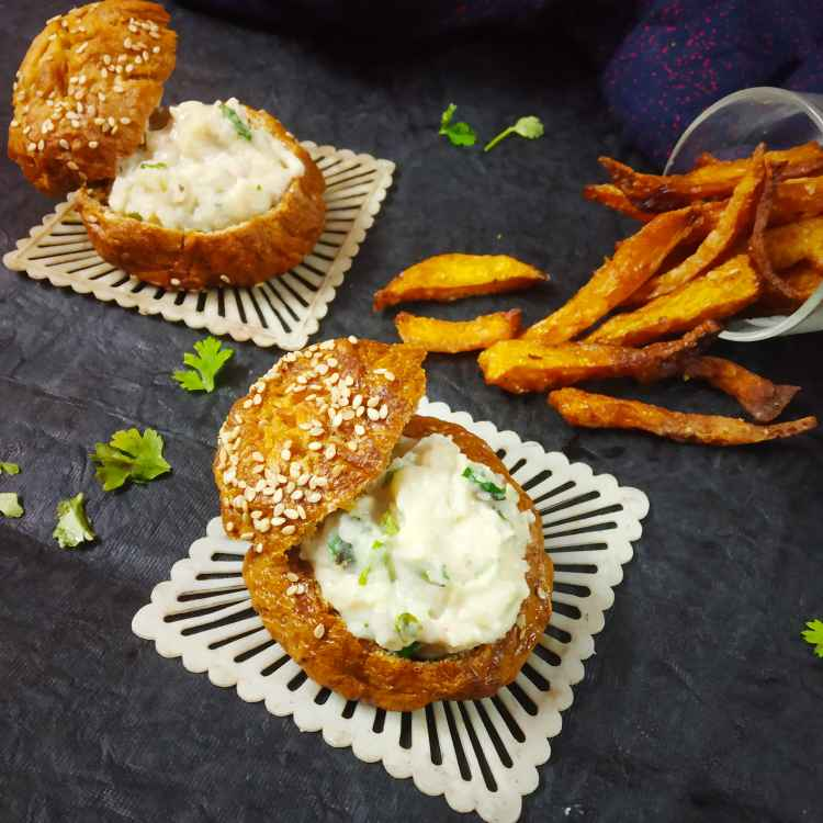 How to make Bread bowl cheese dip and pumpkin fries