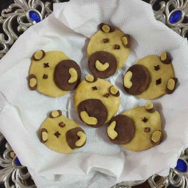 Photo of Teddy bear biscuits by Divya Konduri at BetterButter