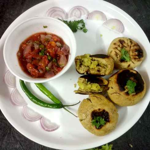 Photo of Litti chokha by Divya Konduri at BetterButter