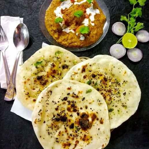 Photo of Garlic butter Naan homemade by Divya Konduri at BetterButter