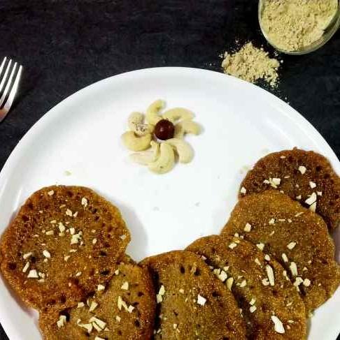 Photo of Millet flour ravva malpua by Divya Konduri at BetterButter