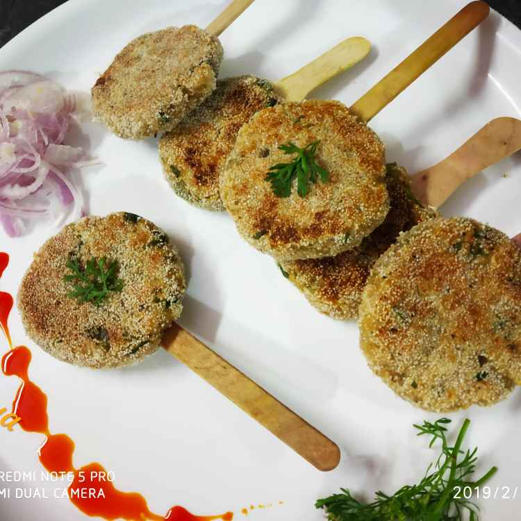 How to make Shahi panner seekh kabab lollipops
