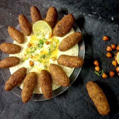 Photo of Kala chana falafel by Divya Konduri at BetterButter