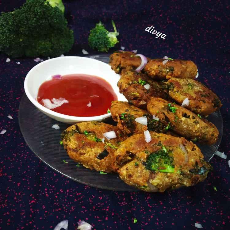 Photo of Broccoli paneer aloo kabab by Divya Konduri at BetterButter