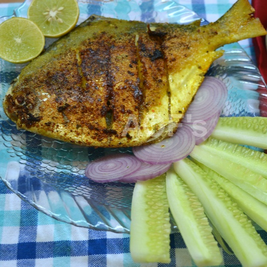 Photo of Pomfret Recheado ( The best 'Goan' fish 'chakna ) by sweta biswal at BetterButter