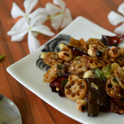 Photo of Kung Pao Lotus Root by sweta biswal at BetterButter