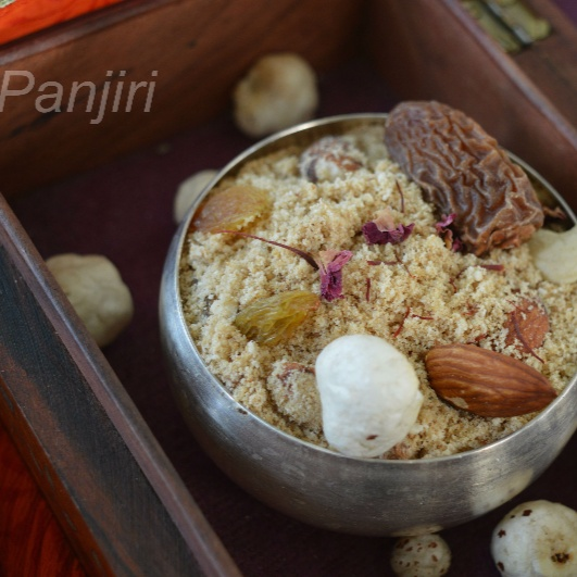 How to make Panjiri