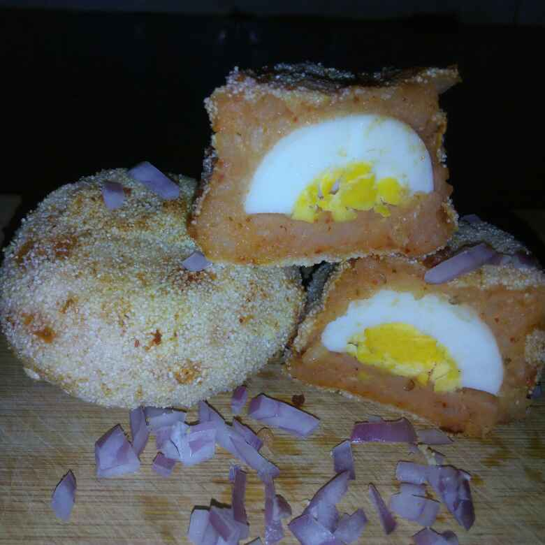 How to make Egg chops