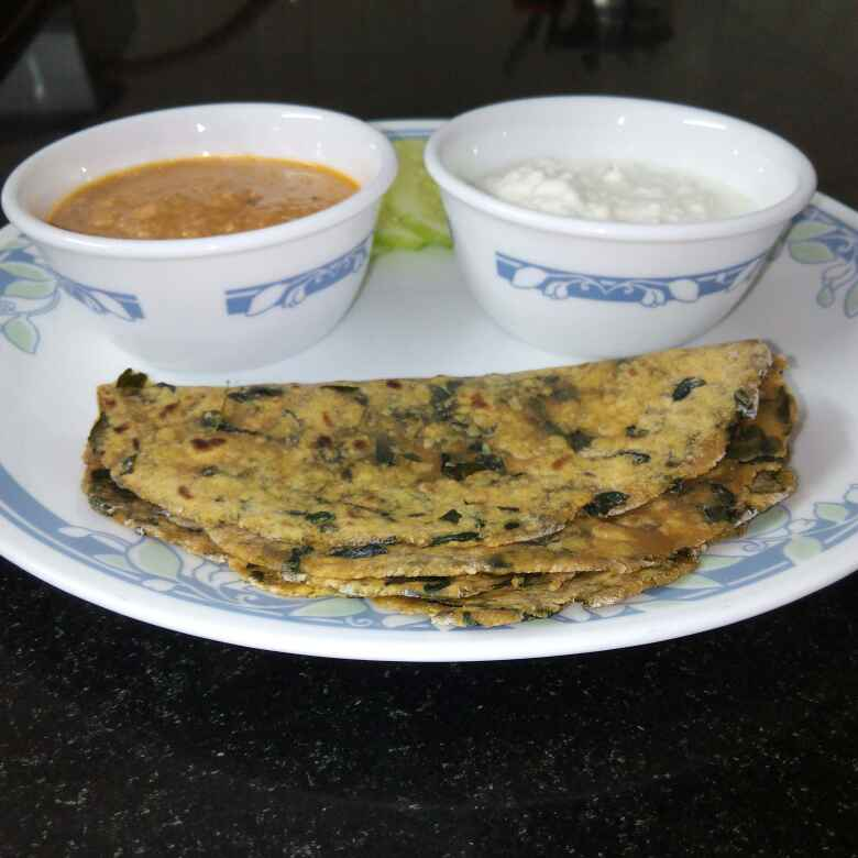 Photo of Drumstick Leaves Paratha by Sweta Shet at BetterButter