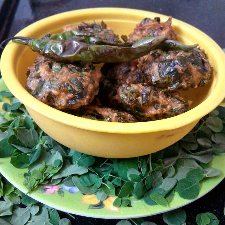 Photo of Drumstick Leaves Vada by Sweta Shet at BetterButter