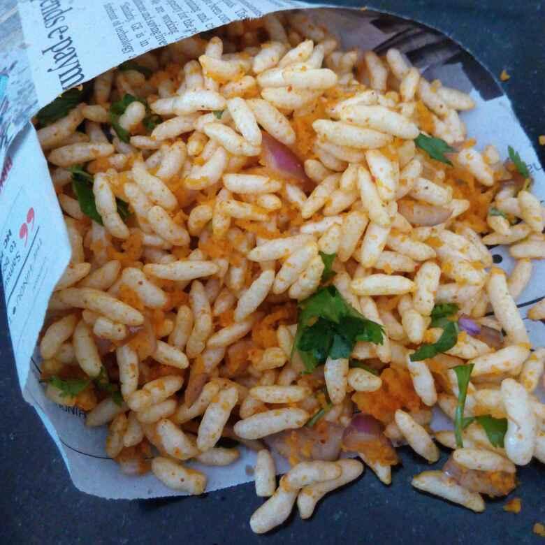 Photo of Spicy puffed rice/ charmurya upkari by Sweta Shet at BetterButter