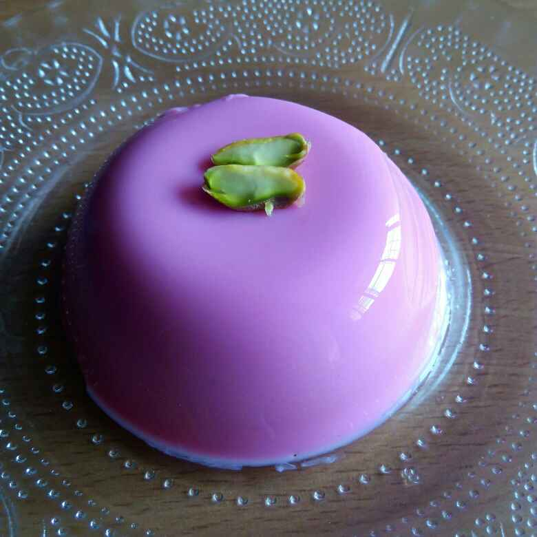 Photo of Coconut & rose pudding by Sweta Shet at BetterButter