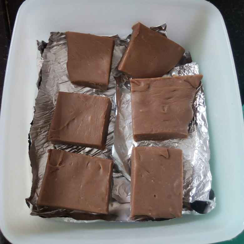 Photo of 2 minute chocolate fudge by Sweta Shet at BetterButter