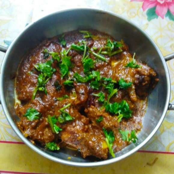 Photo of Dhaba style kadai chicken by Sweta Kapoor at BetterButter