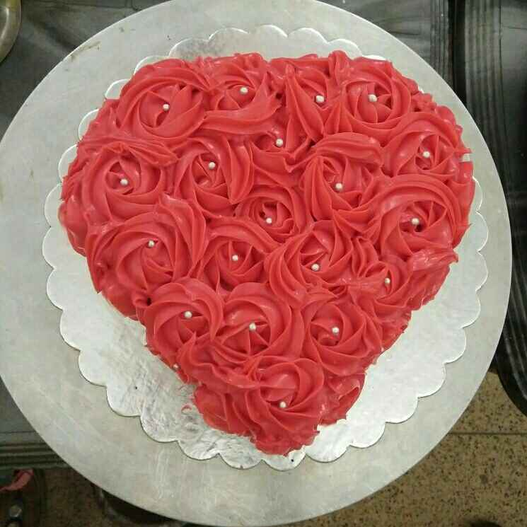 How to make Rose and pista cake