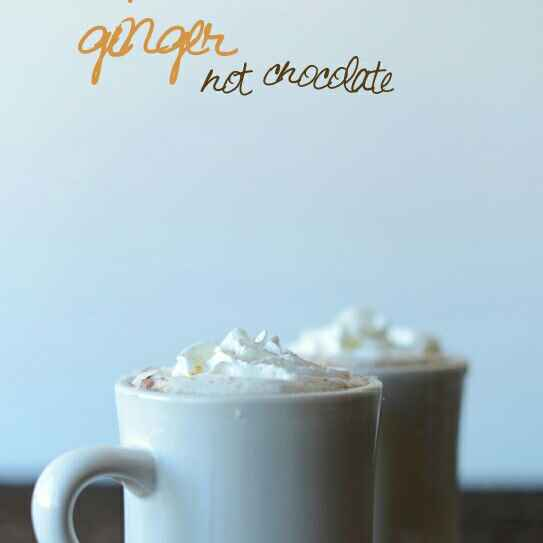 How to make Ginger Hot Chocolate
